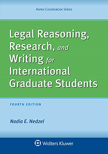 Legal Reasoning, Research, and Writing for International Graduate Students (Aspen Coursebook Series) (English Edition)