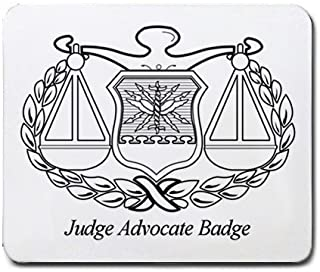 Judge Advocate Badge Mouse Pad