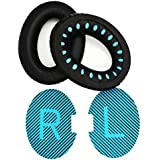 Replacement Headphone Earpads 1pair Ear Cushions for Bose QC2,QuietComfort 15 QC15,QuietComfort 25 QC25, QuietComfort 35 QC35, SoundTrue, AE2, AE2i, AE2w Headset