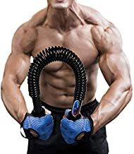 Portzon Python Power Twister,Spring Steel Power Twister,Arm Muscle,Chest,Shoulder Spring Exercise Fitness,Extreme Strength Suitable for Professional Athletes and Sportsman
