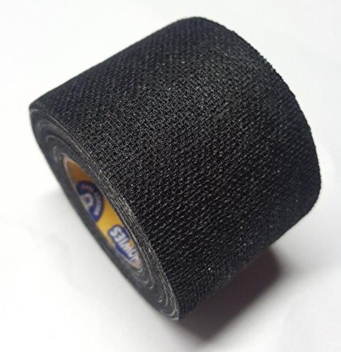 Howies Schlägertape Profi Non-Stretch Grip Hockey-Tape, Griptape (schwarz), 4,57 m