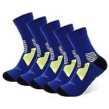 Calcetines tobilleros atléticos con infusión de cobre para hombres y mujeres, calcetines que absorben la humedad - - Small/Medium