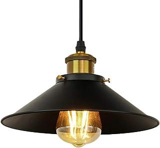 GreenSun Vintage colgante luz Kit 6-Pack RQ Base E27/Cer/ámica L/ámpara Soporte colgante retro l/ámpara de ara/ña 3/Core Cable de 1,35/M envejecido DIY l/ámpara de techo Loft industrial