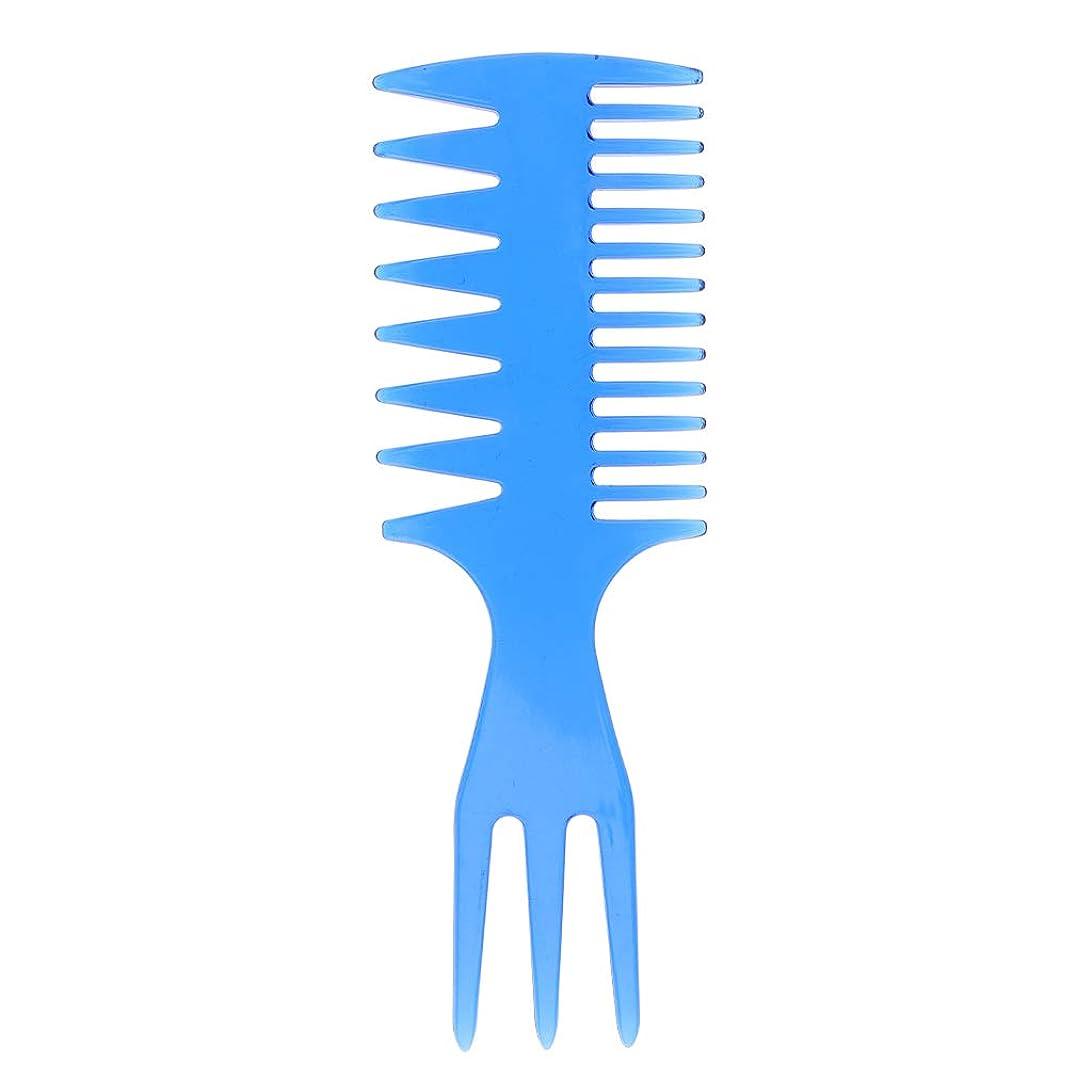 差別的ヒール百科事典1つの人の油性毛の一突きの櫛の大広間の染料の理髪のスタイリング広い歯に付き3つ