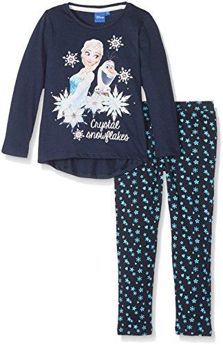Disney Frozen Niña de set de cristal copos de nieve pijama de...