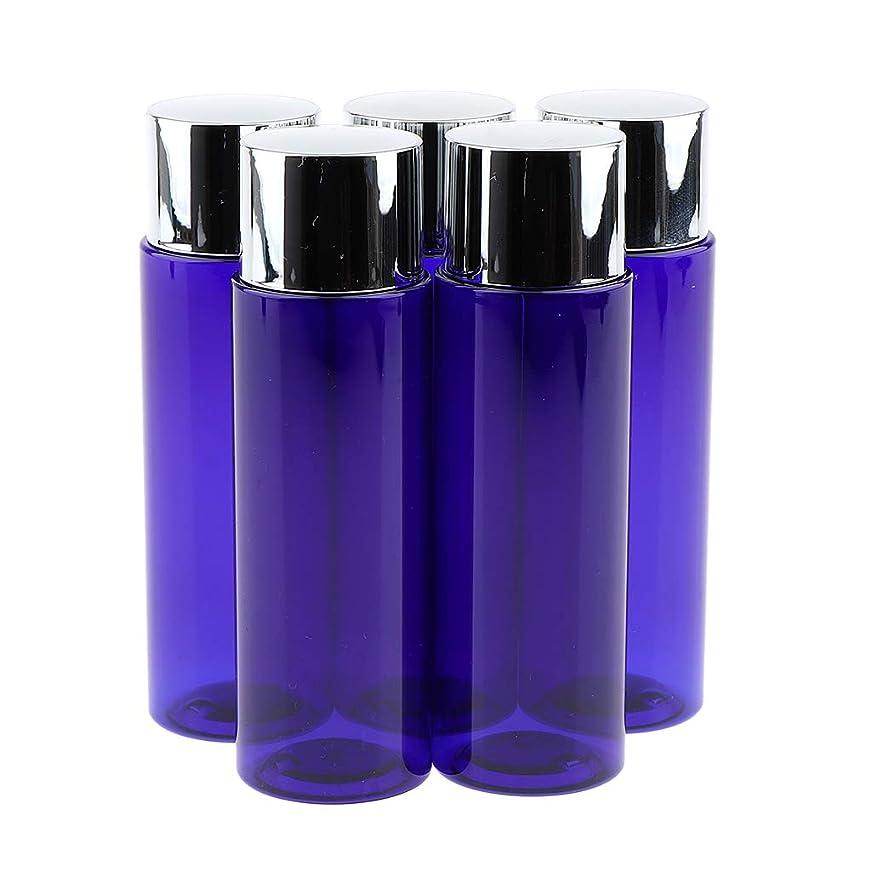 プレミアルネッサンスチロP Prettyia 5本 化粧ローションボトル 液体ボトル 旅行小物 3サイズ選べ - 100ML