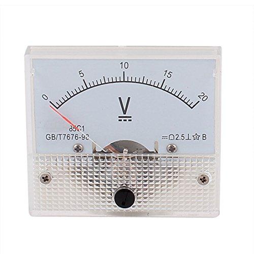 Aexit DC 0-20V Analog Panel Volt Voltmeter Voltmeter Messgerät (df48371d365064fb310cf5c93a3c44ae)