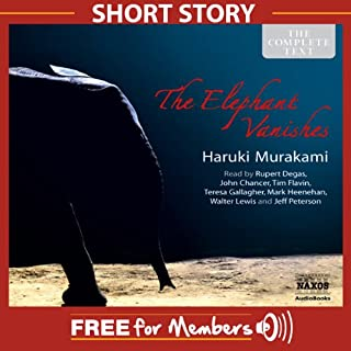 Free Short Story: The Elephant Vanishes audiobook cover art