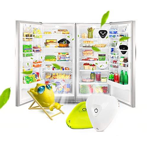 AAERP Refrigerator Deodorizer,USB Rechargeable Portable Mini Ozone ...