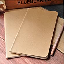 50 pieces blank notebook daily memos travel journal notebook 4.33x8.26 Inch