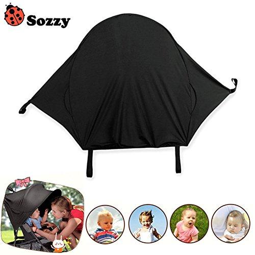 Samseed Universal-Sonnenschutz für Kinderwagen, UV-beständig, Sonnenschutz für Neugeborene, Kinderwagen