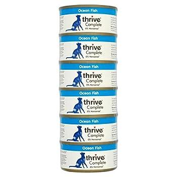Thrive Complete nourriture pour chat avec poisson de mer (6x75g) - Paquet de 6