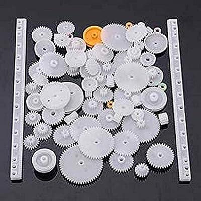 YUNIQUE UK ® 75 Pieces Gear spare parts for robotics , drones , Car RC (kit 75pieces)
