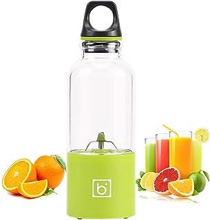 Hefacy Mini mixeur portable, 500 ml, presse-agrumes électrique rechargeable par USB, mixeur de fruits portable, baibao ver...
