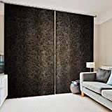 3D Printed Blackout Curtainsdigital Printing Design Distinctive Vertical Curtains, Simple Stylish Eyelet Curtains Breathable Insulation,For Living Room Bedroom Kid Room Castle Home Decor,W228*H274Cm