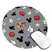 マウスパッド ミニーマウス 円形 防水 洗える 耐久性 滑り止め オフィス 高級感 おしゃれ かわいい