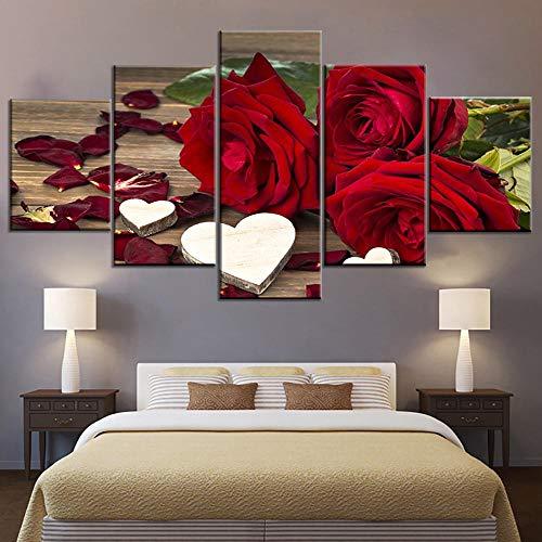 5 piezas Grandes carteles e impresiones de lienzo en blanco y negro Fumar Hookah Shisha Bowl Imagen impresa en lienzo para la decoración de la habitación-200 * 100 cm-Enmarcado