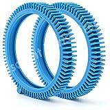 Lot de 2 pneus de rechange avec Super Hump pour nettoyeurs Select Poolvergnuegen 896584000-143