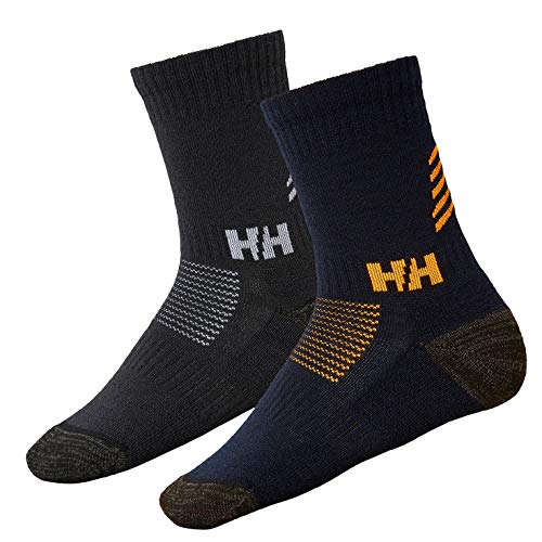 Helly Hansen Jungen Socken-67230 Jungend Socken, Navy, 35-38