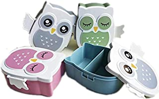 KOUYE Lunch Box bowl portable Cartoon Bento Boxes Food Storage Container Bowls