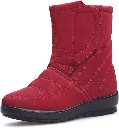 botas De mujer Al Aire Libre botas De Nieve botas Martín Calientes Impermeable Antideslizante botas De Caballero