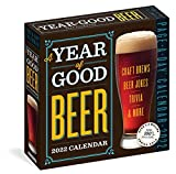 A Year of Good Beer Page-A-Day Calendar 2022: Craft Brews, Beer Quizzes, Trivia & More