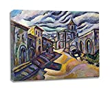 CuadrosDecoracionSalonDecoracion Joan Miro título desconocido3 FotoMuralParedLienzosDecorativosCuadrosDecoracionDormitoriosMuralesParedParaDormitorios 50x60cm 20 'x24' enmarcado