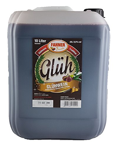 Glühwein Weihnachten Fahner Glühwein 10 Liter für;GLÜHWEINTASSE;GLÜHWEINBECHER