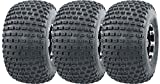 375/45R22 Tires - WANDA 3 New 3 Wheeler ATV Tires 22X11-8 4PR P322 Dimple Knobby - 10026