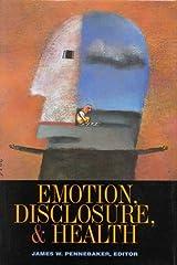 Emotion, Disclosure, & Health Hardcover