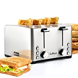 Best 4 Slot Toasters - Toaster 4 Slice, LauKingdom Stainless Steel Toasters Review