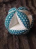 Balle de préhension Montessori 'bleu et blanc' Personnalisable