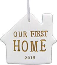 Didida Our First Home Christmas Ornament 2019 Housewarming Gift