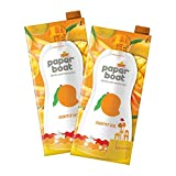 Aamras Mango Fruit Juice No Added Preservatives and Colours (Pack of 2 1L Each)
