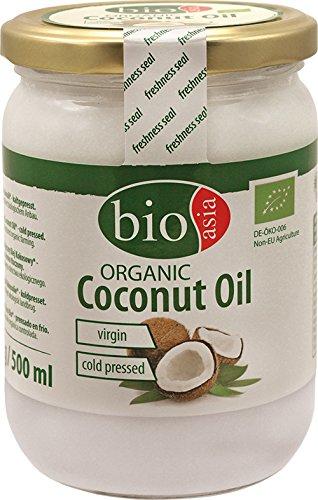 Bioasia - Olio di cocco biologico, 500 ml