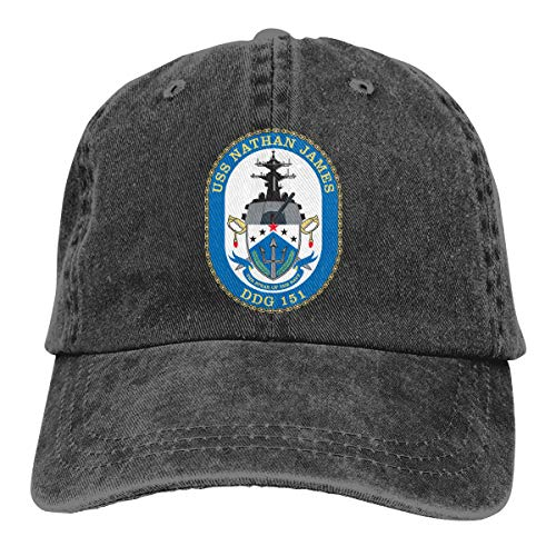 USS Nathan James(DDG-151) Denim Hats Baseball Cap Dad Hat