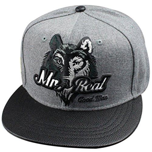 Belsen neutral Wolf Kopf Hip-Hop Cap Baseball Kappe Hut Truckers Hat (Kind)