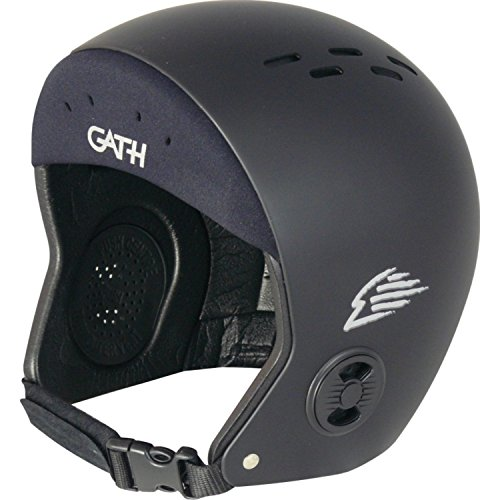 Gath Neo Sport Hat Safety Surf Helmet - Black - S