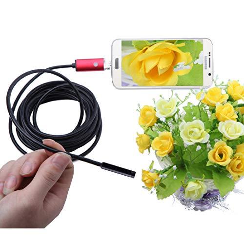 Cámara endoscópica para Xiaomi Redmi Note 6 Smartphone Micro USB/USB Android Cable...