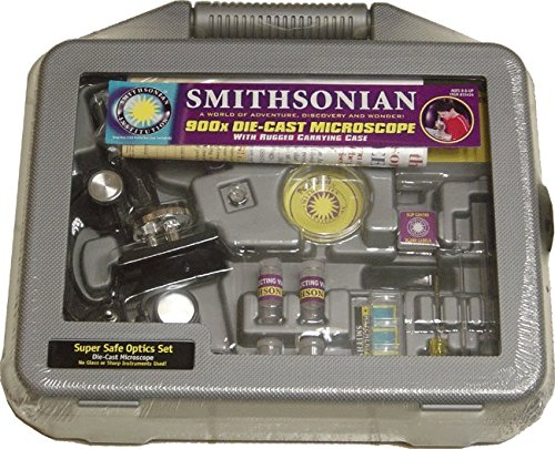 NSI Smithsonian 900 x Microscope with Case