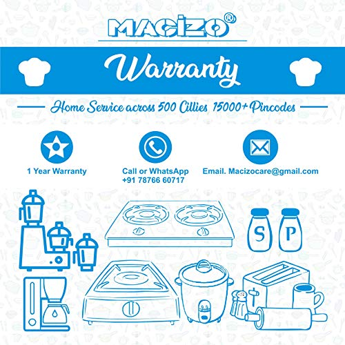 MACIZO Edge Plus ISI Certified Glass Manual Gas Stove (2 Burners)