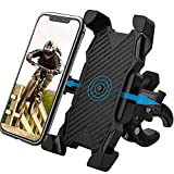 Bike Phone Mount, Phone Holder for Bike Motorcycles Stroller Shopping Cart Electric Scooter Indoor Treadmill Spin Bike, Suit for All 4.0'' - 6.8'' Phone Devices