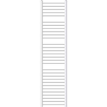 750 x 1800 mm Blanco Recto con conexi/ón Lateral ECD Germany Radiador de ba/ño radiador toallero
