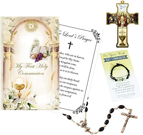 First Communion Gift Set for Boys Holy Communion Boy Gifts Set Contains Adjustable Bracelet product image