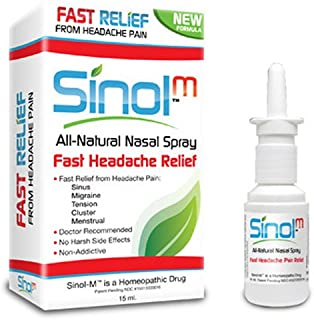 Sinol-M Fast Headache Relief Nasal Spray 15ML