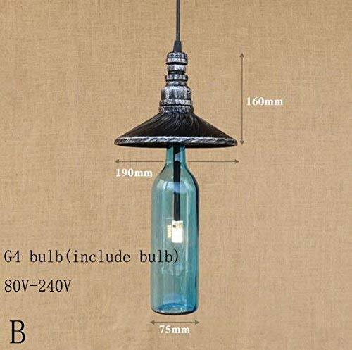 Zhang Yan , Flaschenschrank led licht Suspension Lampe Badezimmer d''POCA Living/Dining/bar g4 licht Suspension Lampe vorrichtung 220 v, b