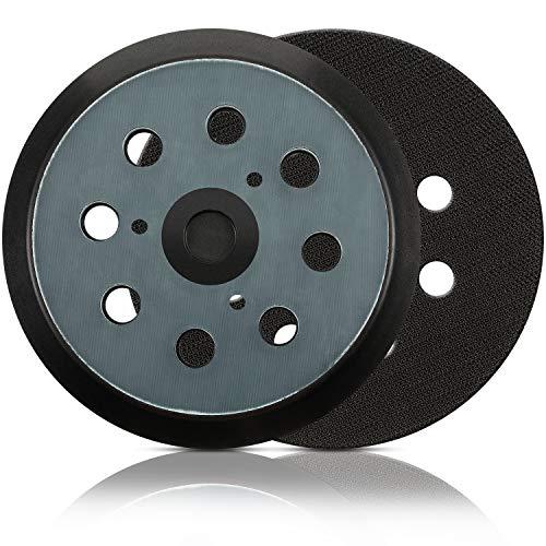 Ersatz-Schleifscheiben, 2 Stück, 12,7 cm, 8 Loch, Klett, kompatibel mit Makita BO5010, BO5030K, BO5031K, BO5041K