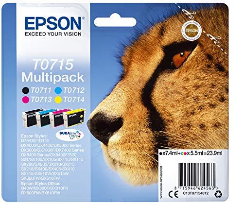 T071540 STYLUS D78 Cartucho de tinta multipack Epson