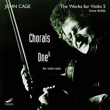 Cage: Violin Works, Vol. 5