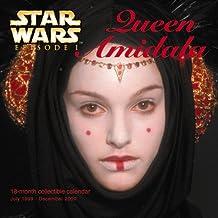 Star Wars Episode I: Queen Amidala 18 Month Collectible Calendar July 1999-December 2000